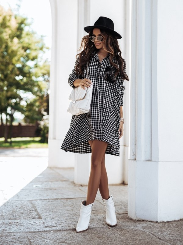 Sukienka Bolero Czarna
