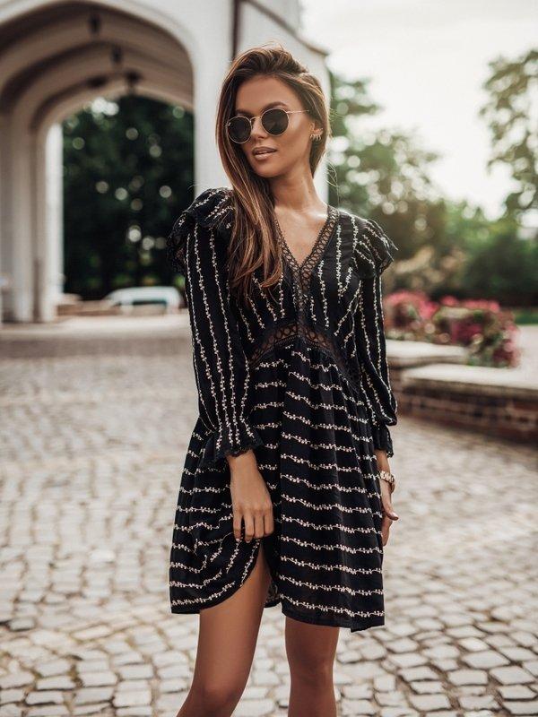 Sukienka Rovena Czarna