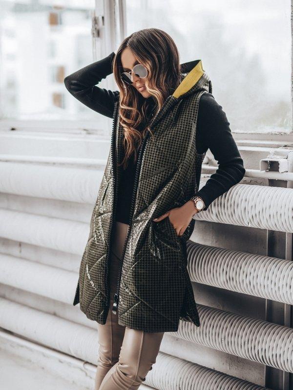 Kamizelka Origin Tweed Khaki