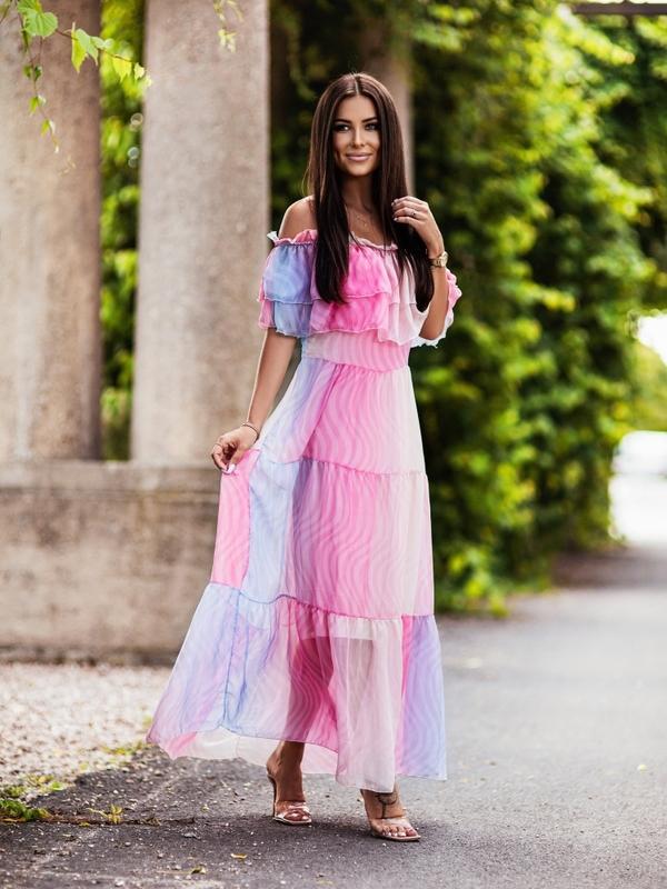 Sukienka Medusa Różowa