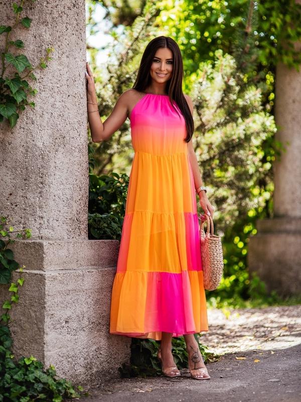 Sukienka Pomelo Pomarańczowa