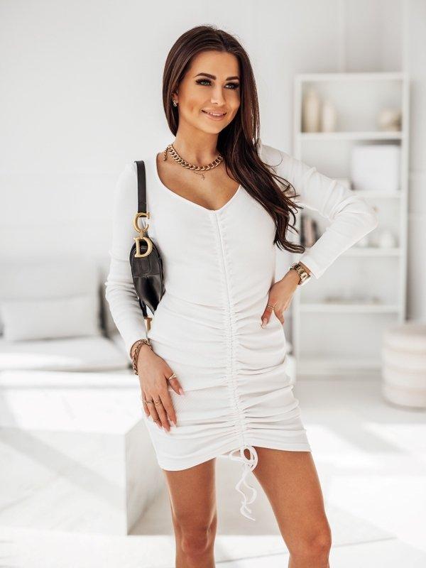 Sukienka Parelle Biała