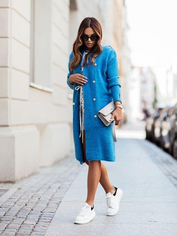 Sweter Jasmin Turkusowy