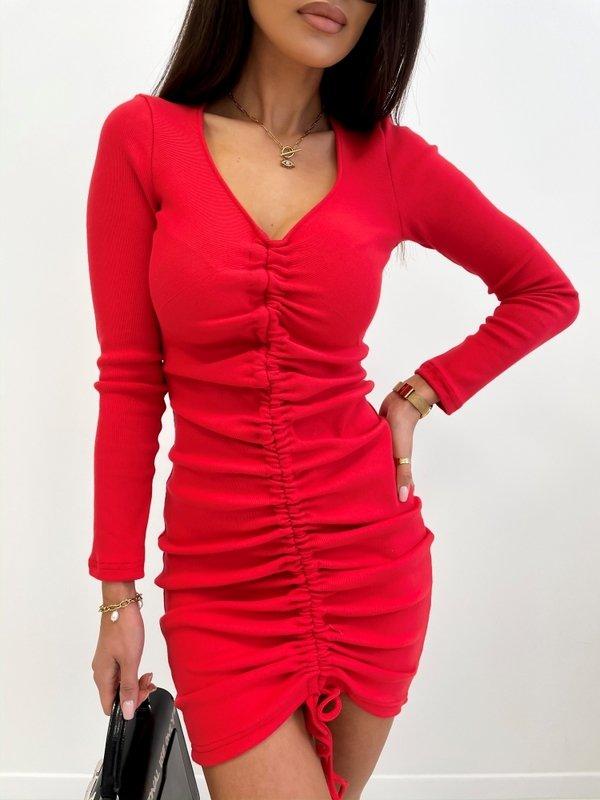 Sukienka Parelle Czerwona