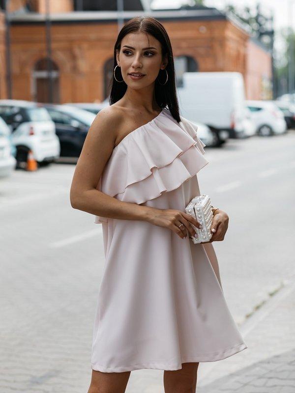 Sukienka Lancello Pomarańczowa