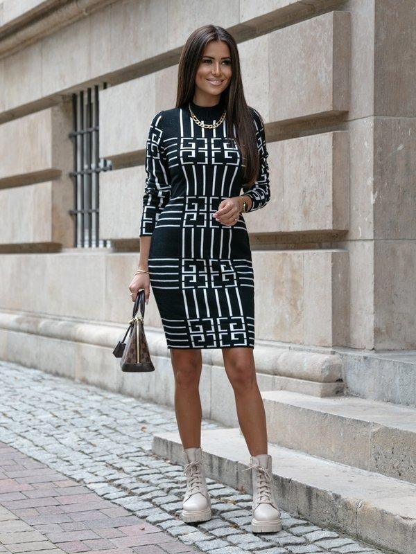 Sukienka Larissa Biała
