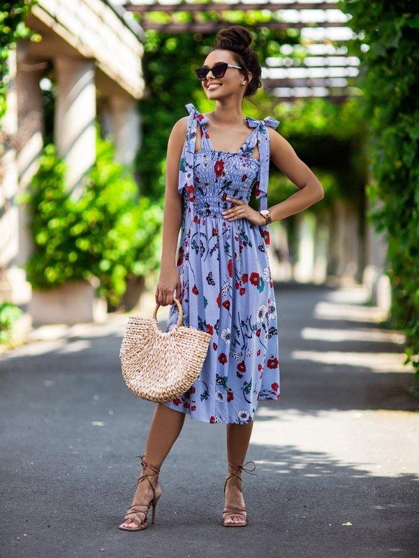 Sukienka Ultra New Niebieska