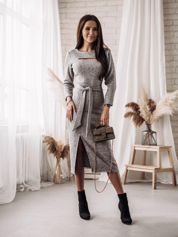 Sukienka Ciarra Szara