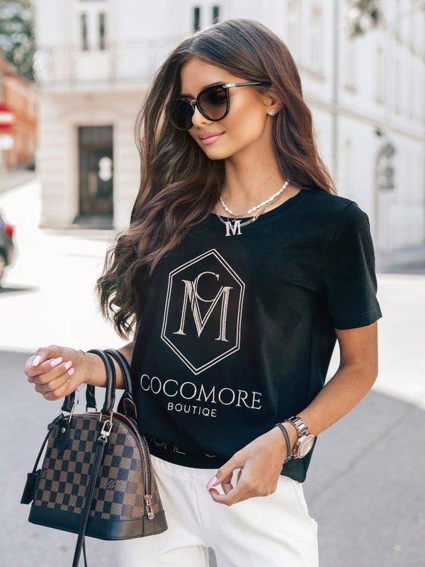 T-shirt CM Coco Czarny