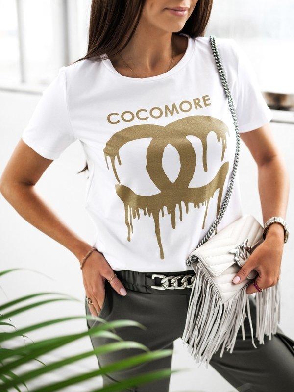 T-shirt Coco Paint Biały