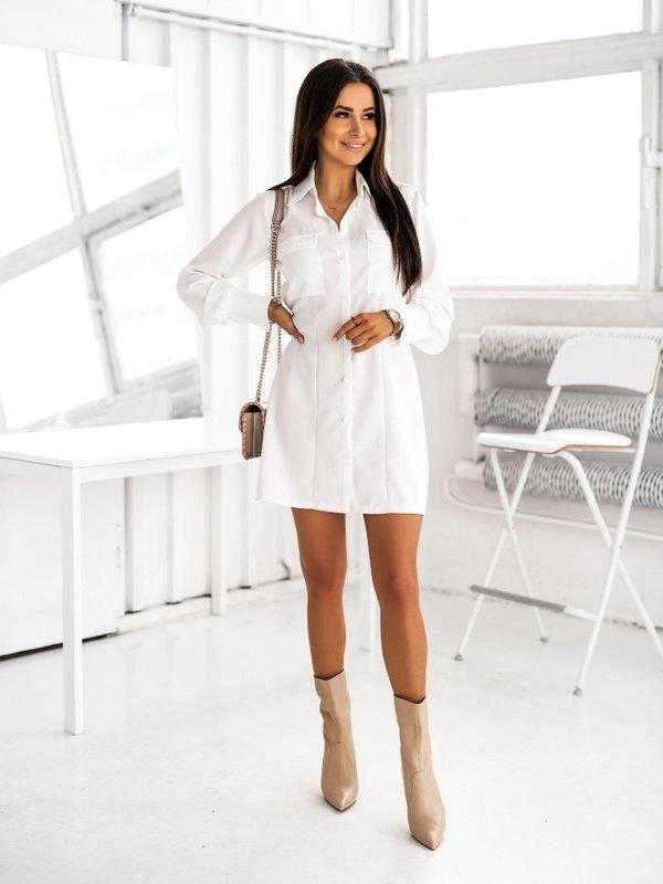 Sukienka Bella Biała