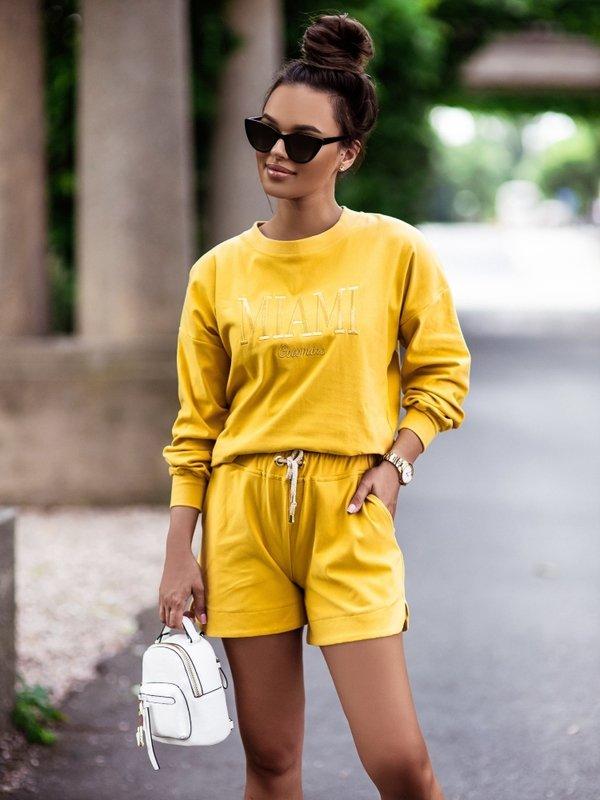 Bluza Miami Żółta