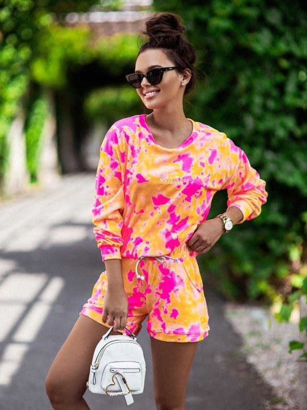 Bluza Joggy Pomarańczowa