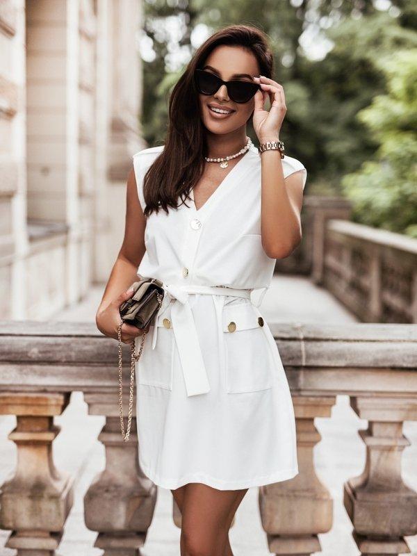 Sukienka Semie New Biała