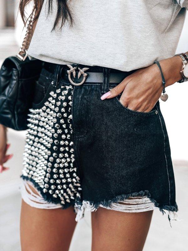 Spodenki Libbi Jeans Czarne