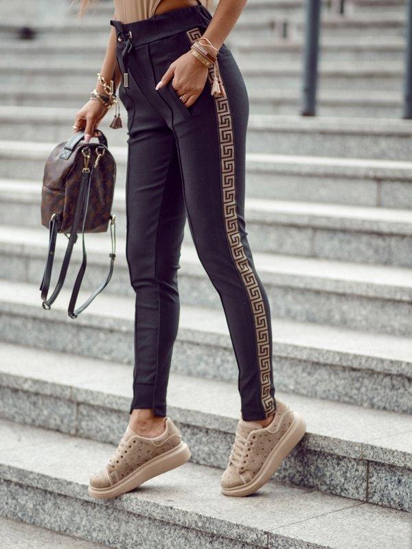 Spodnie Damma Czarne