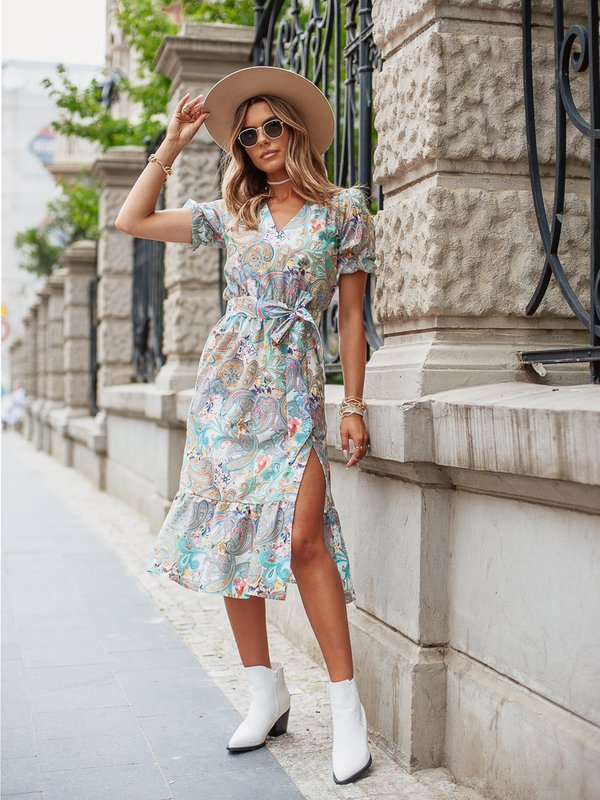 Sukienka Pamela Miętowa