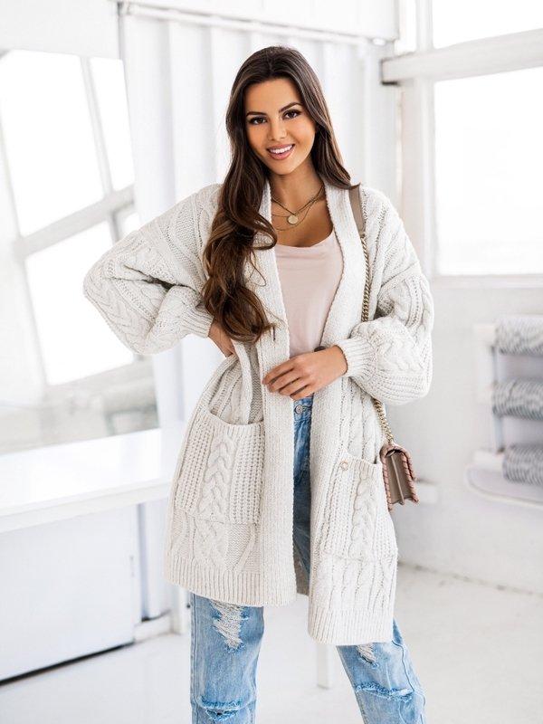 Sweter Aurella Kremowy