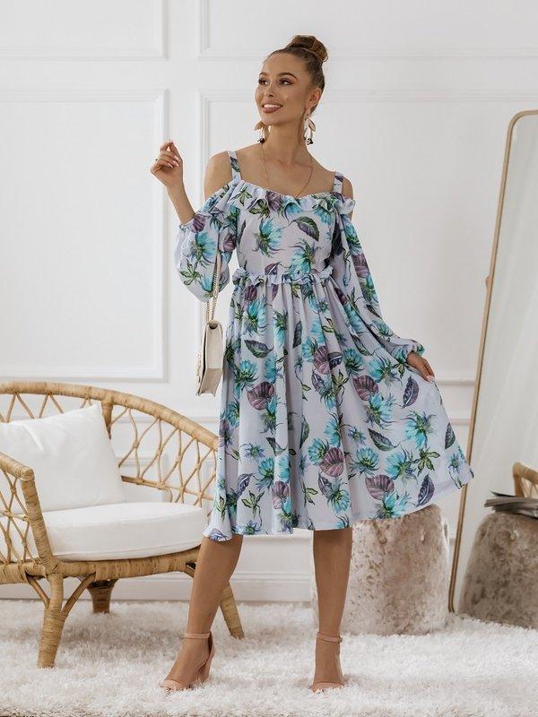Sukienka Lessa Błękitna