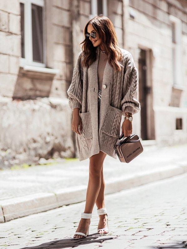 Sweter Aurella Beżowy