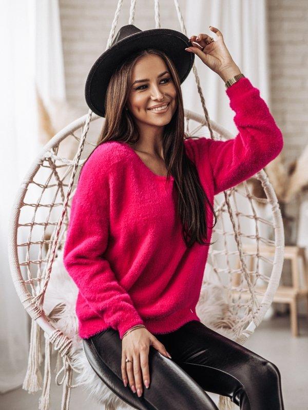Sweter Pandora Amarantowy