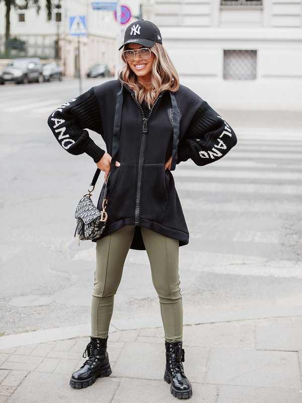 Kurtka Tender Sweater Czarna