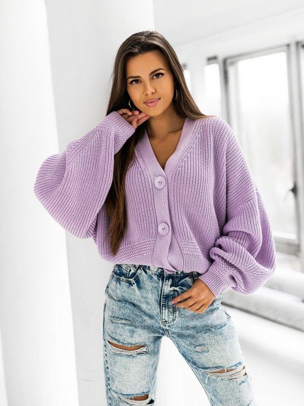 Sweter Vanessa Fioletowy