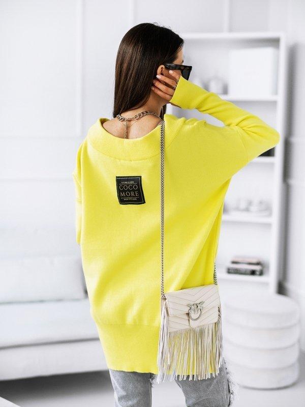 Sweter Misha Żółty