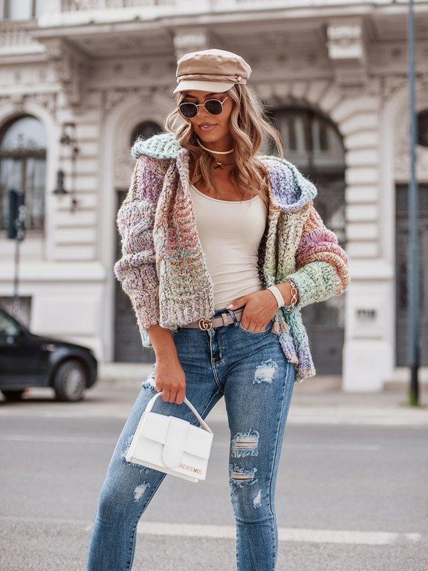 Sweter Kamikaze Różowy