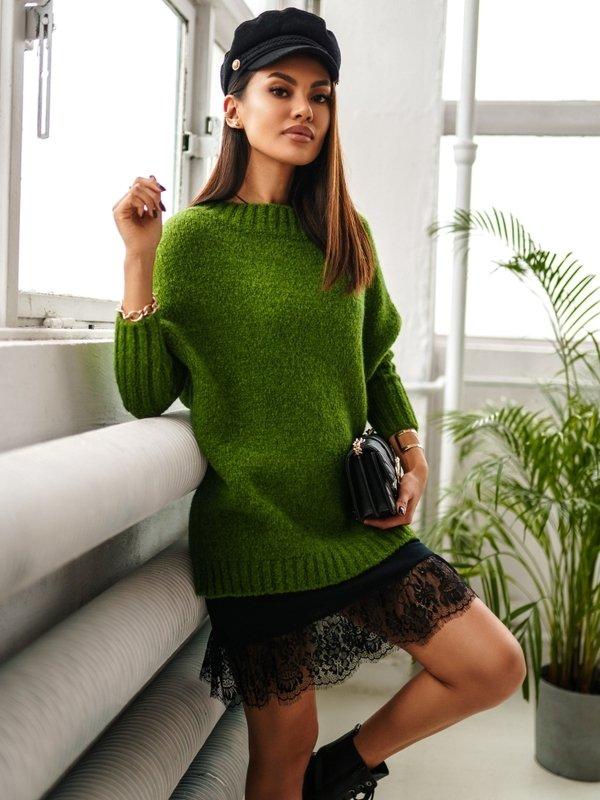 Sweter Jacqueline Zielony