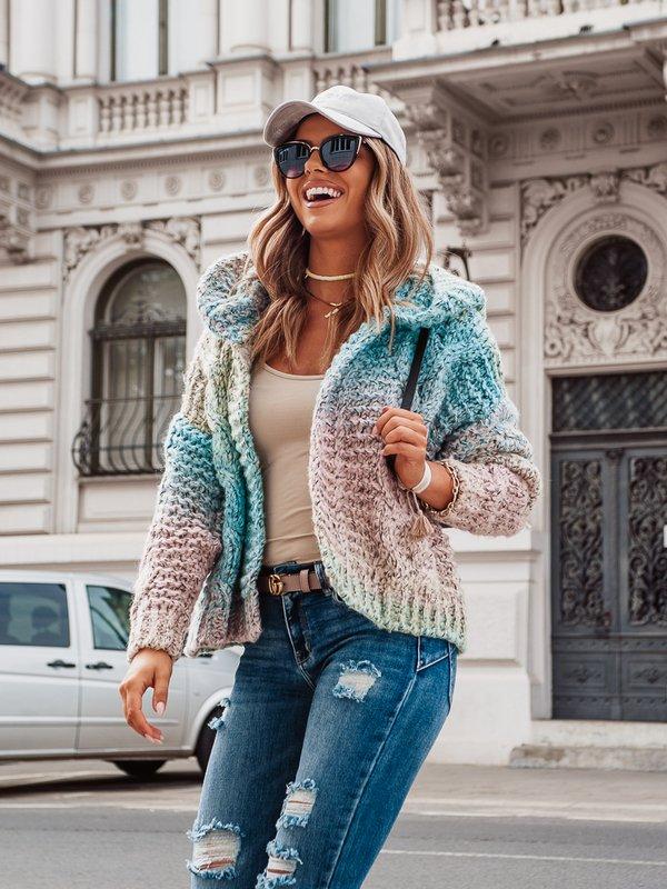 Sweter Kamikaze Pudrowy