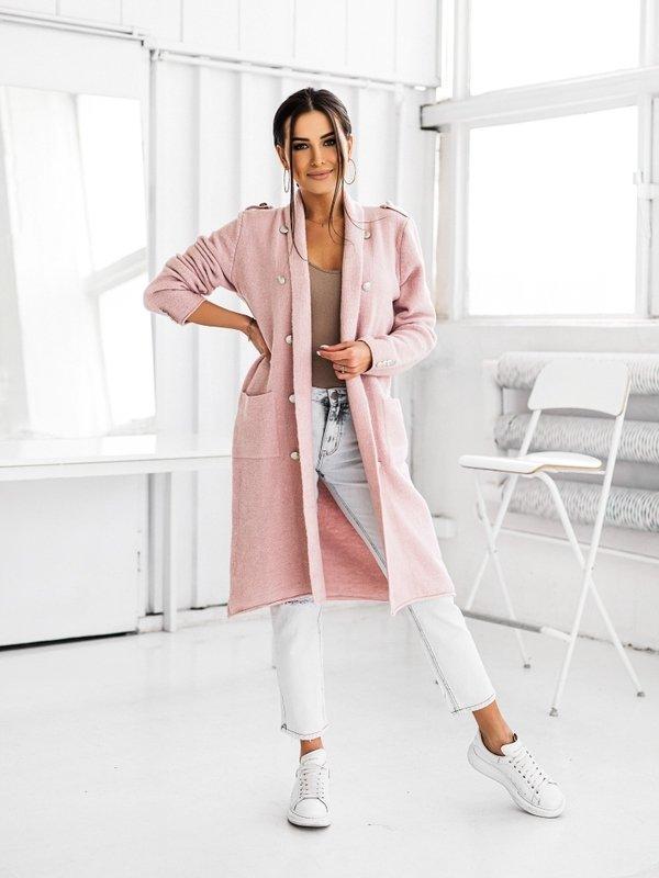 Sweter Jasmin Pudrowy
