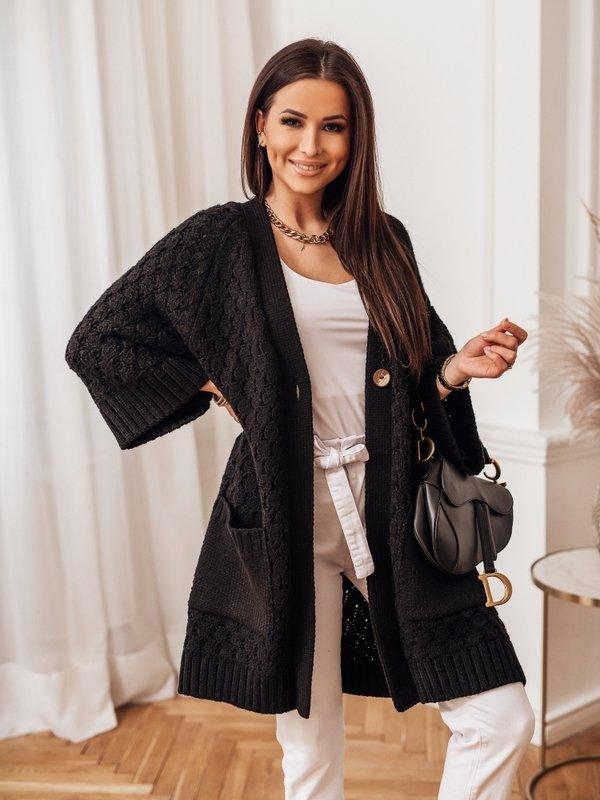 Sweter Melania Czarny