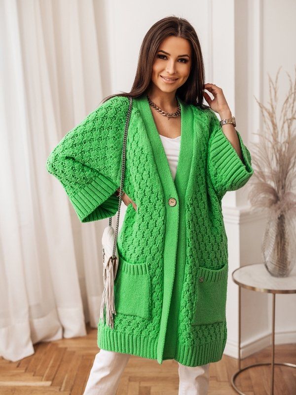 Sweter Melania Zielony