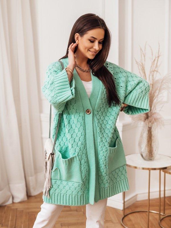 Sweter Melania Miętowy