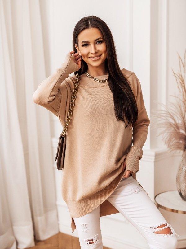 Sweter Misha Beżowy