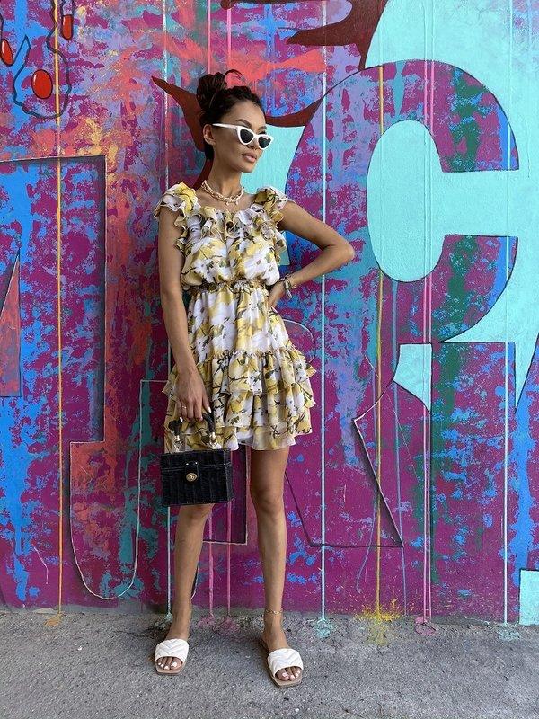 Sukienka Arozo Żółta