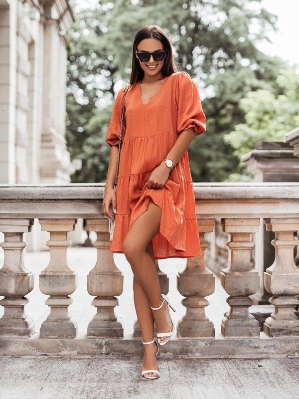 Sukienka Salma Pomarańczowa