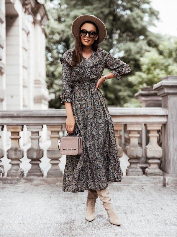 Sukienka Borgia Boho Czarna