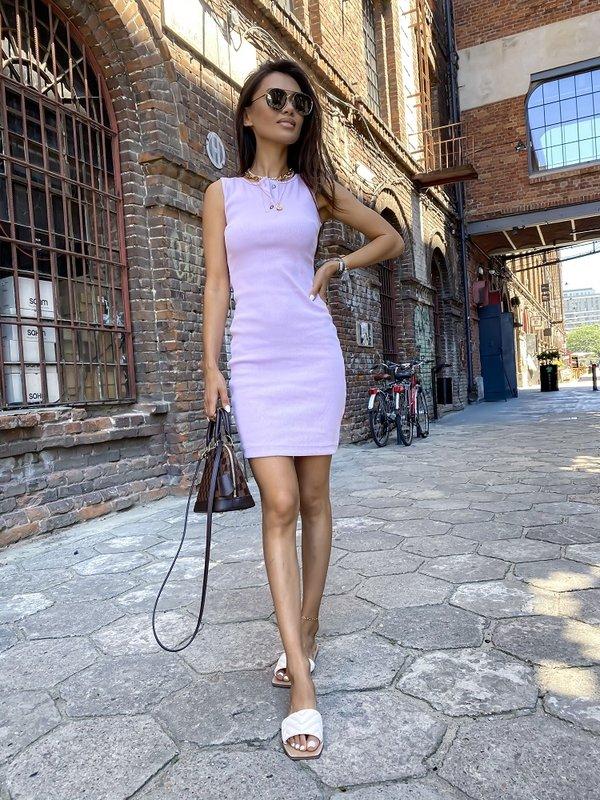 Sukienka Slimi Fioletowa