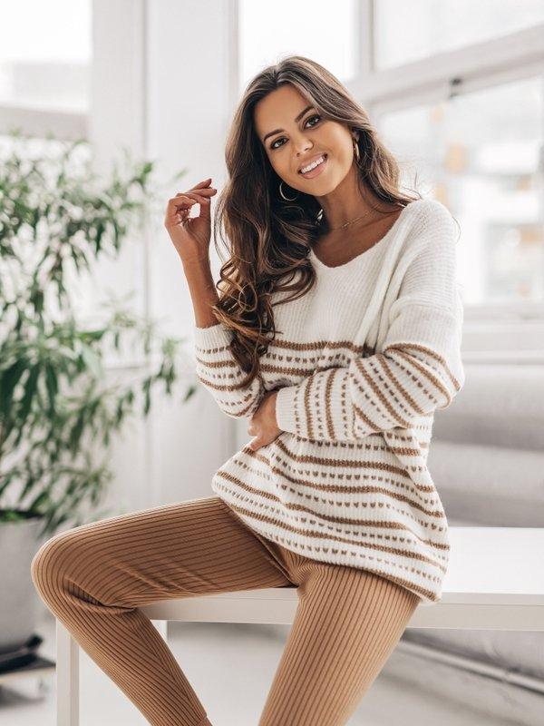 Sweter Mauricio Kremowy