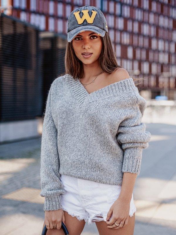 Sweter Ashley Szary