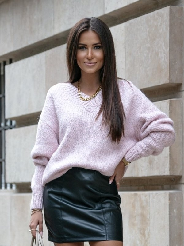 Sweter Ashley Pudrowy