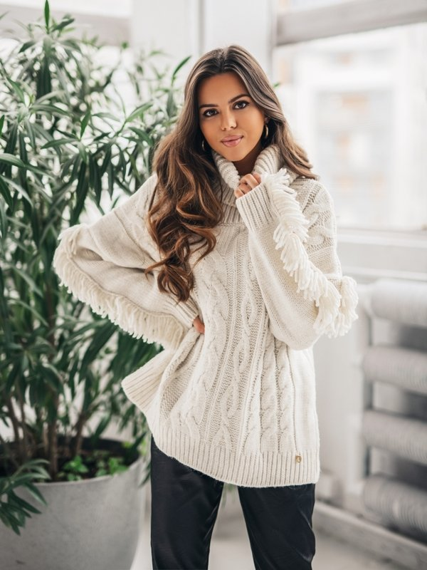 Sweter Hiver Kremowy