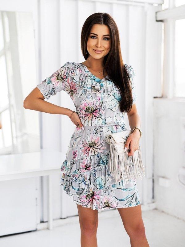 Sukienka Flavia Szara