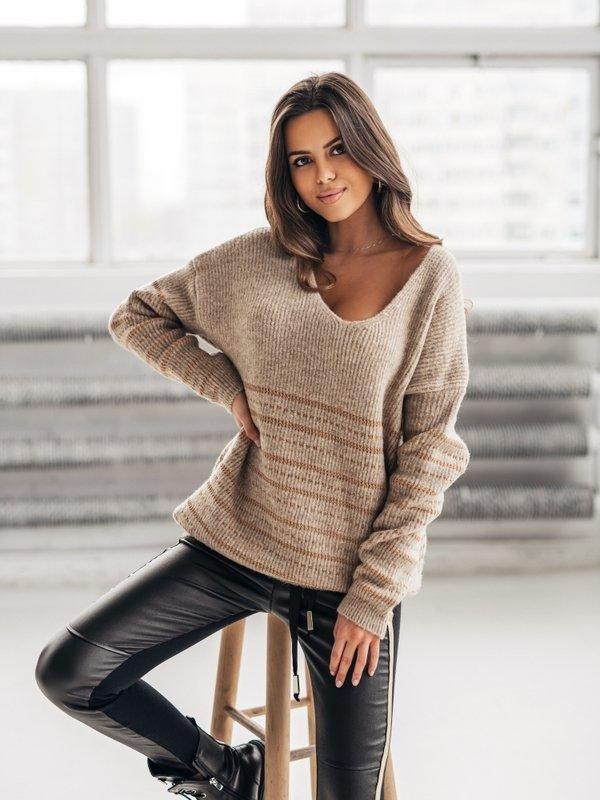 Sweter Mauricio Beżowy