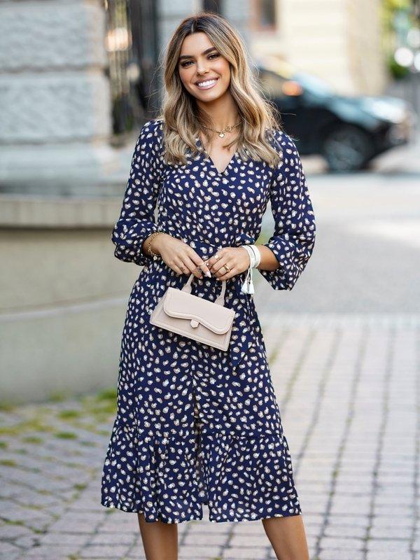 Sukienka Jazmin Panther Granatowa