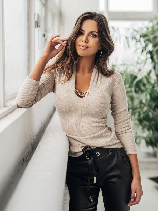 Bluzka Merida Beżowa