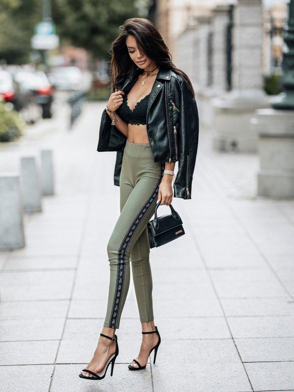 Spodnie Flor Khaki