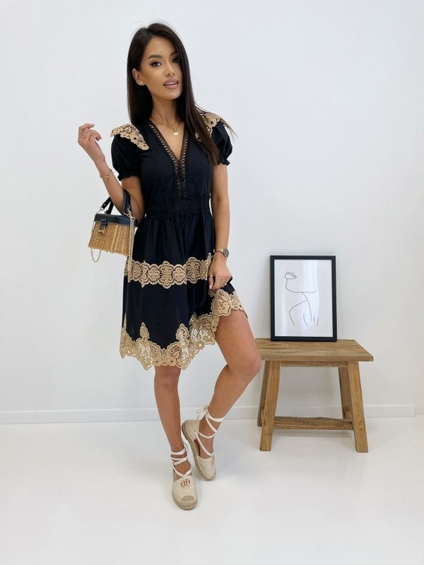 Sukienka Biffie Czarna